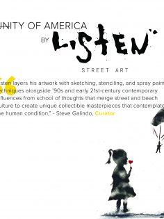 listen street artist - 2021 show - steve galindo